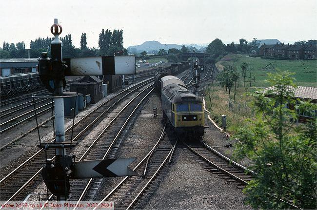 Railways Of North Wales 1975 1983 Wrexham Croes Newydd South