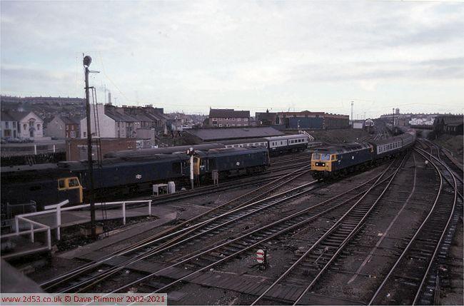 Railways Of North Wales 1975 1983 Holyhead 23dec80